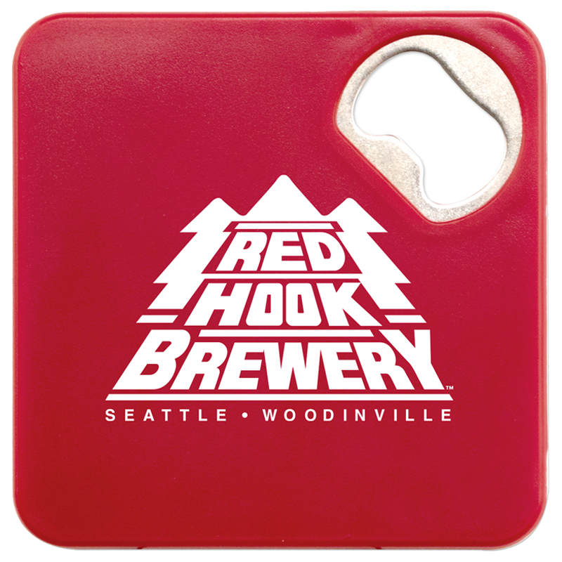 Custom Coaster with Bottle Opener