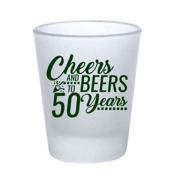 Customized Frosted Shot Glass- 1.75 oz.