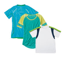 Custom Ladies & Juniors Athletic Apparel