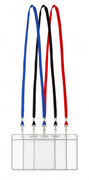 Blank Double Clip Lanyards