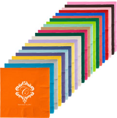 Custom 3ply Premium Beverage Napkins
