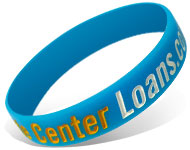 Custom Ink Injected Silicone Wristbands